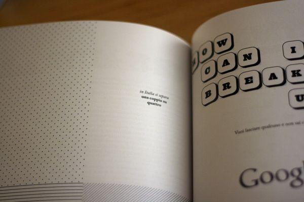 """Oh sì! · Oh yes!"" #13 __ Design: Michela Monterosso __ #inspiration #creativity #concept #art #art_direction #grid #layout #design #layout_design #graphic #graphic_layout #graphic_design #editorial #editorial_layout #editorial_design #book #book_layout #book_design #print #print_layout #print_design #typography #photography #michela_monterosso #oh_si #oh_yes_book #behance"