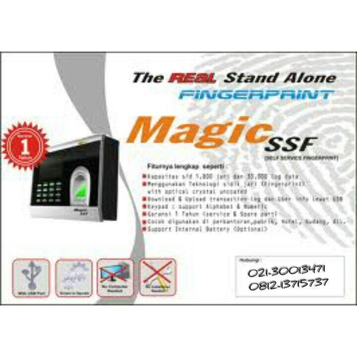 Mesin Absensi Magic SSF