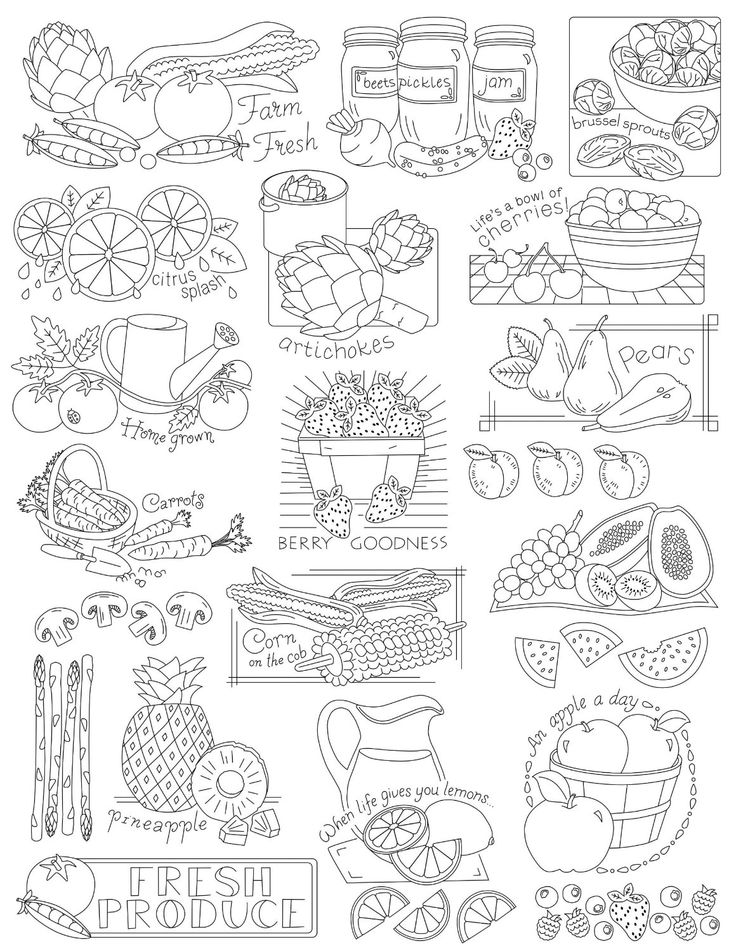 Amazon.com: Aunt Martha's Fruits and Veggies Embroidery Transfer Pattern Book, Over 25 Iron On Patterns: Arts, Crafts & Sewing