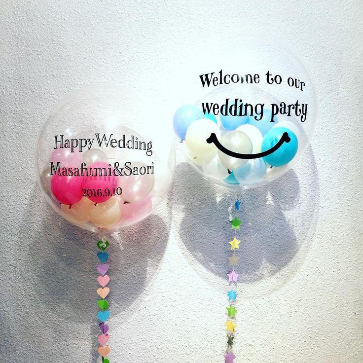 今最も熱い会場装飾アイテム♡インスタで見つけた可愛い『透明バルーン』のデコレーション9選* | marry[マリー]