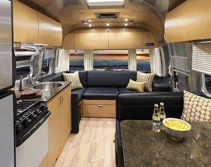 Perfect Rv Trailer Storage Ideas Airstream Interior Trailer Decor Airstream Trailers