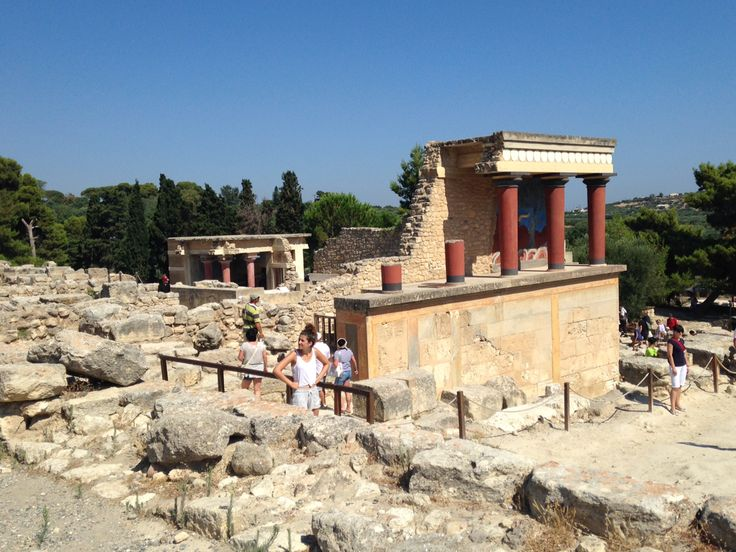 Crete, Knossos palace