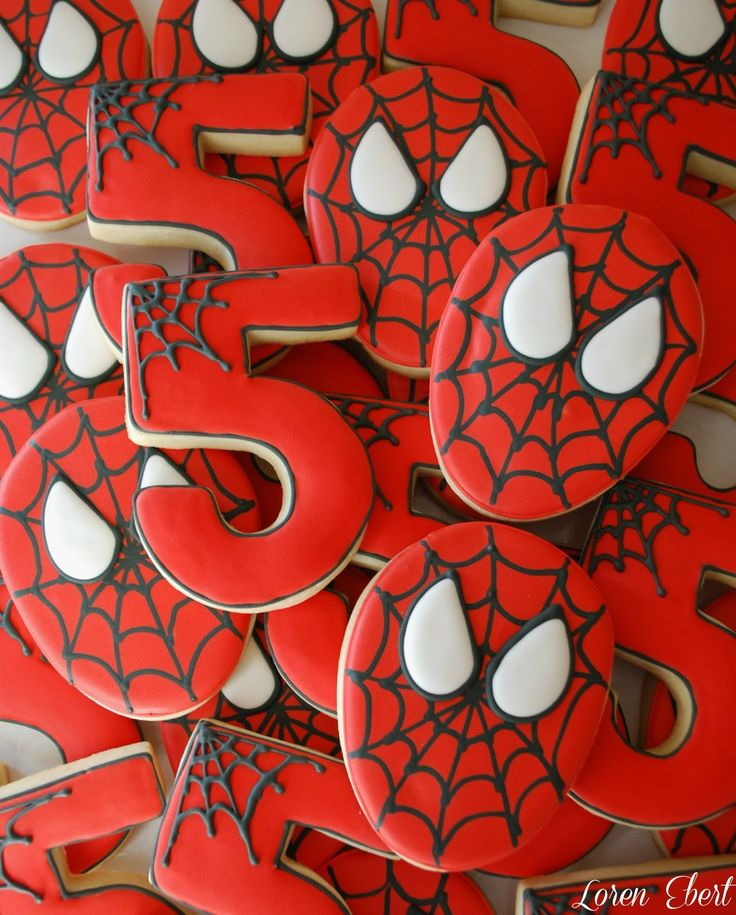 The Baking Sheet: Spiderman Cookies!