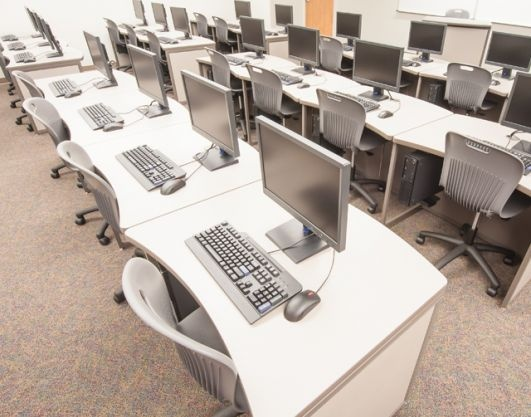 Computer Lab Furniture By Interior Concepts.