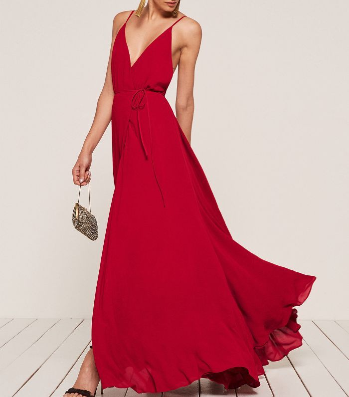 Can You Wear Red To A Wedding Chic Evening Dress Dresses Red Cocktail Dress