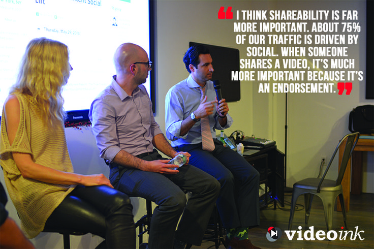 Missed our event last night, no worries, we have you covered. Here is Jonathan Perelman General Manager of Video & VP at BuzzFeed #nyc #ViChats #videoShareability