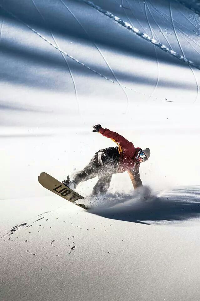 Travis Rice #snowboarding I will snowboard one of these days. . . :)