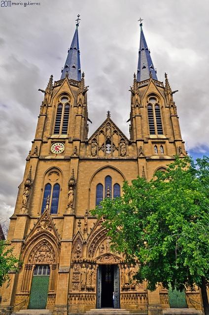 Ste. Ségolène à Metz. Metz, France.