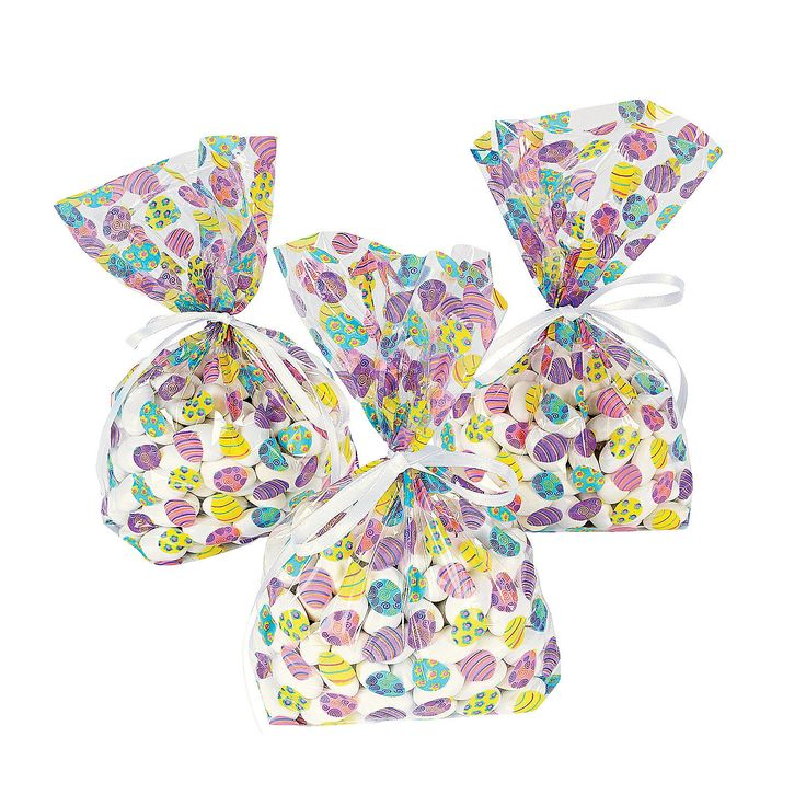17 best easter goodie bags images on pinterest goodie bags easter easter egg cellophane bags negle Images