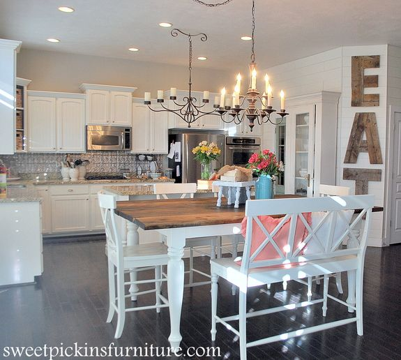 "Kitchen Table Makeover: ""Best DIY Projects"" Highlights! 