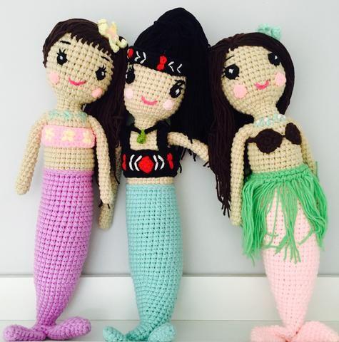 Pacific Island Mermaids
