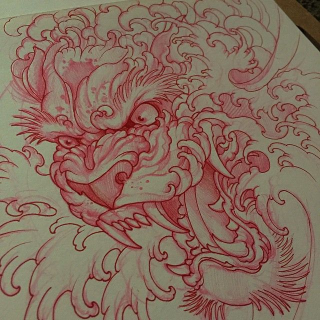 """Sketch for my client"" Photo taken by @elvintattoo on Instagram, pinned via the InstaPin iOS App! http://www.instapinapp.com (04/06/2015)"