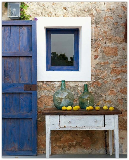 Art Symphony: Summer house on Formentera, Spain