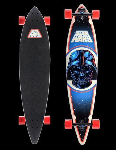 New Favourite: Das Darth Vader Longboard | found on Interview.de