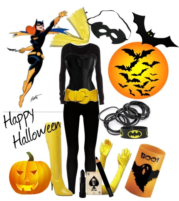 """""""BATgirl"""" by lorantin ❤ liked on Polyvore"""