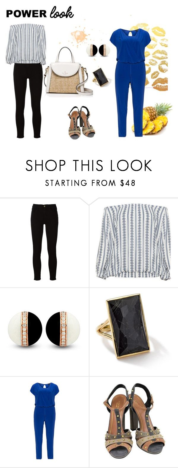 casual by alejandrarivera-i on Polyvore featuring moda, Zizzi, Verpass, Frame, Gucci, Kate Spade and Ippolita