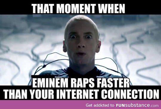 Eminem vs. The internet