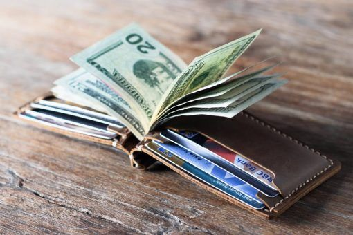 15fd232322cb Leather Money Clip Wallet | Shoes | Leather money clip wallet, Money ...