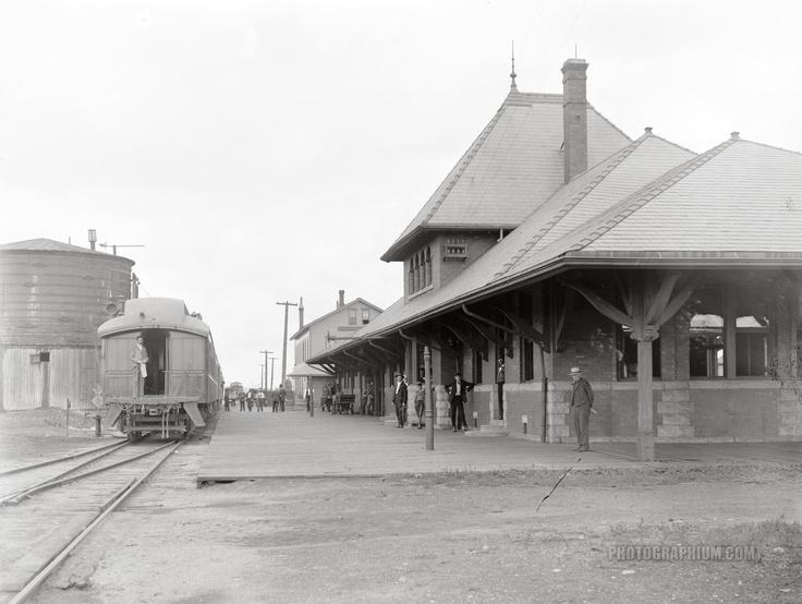 Chicago And Northwestern Railway Station At Kasota