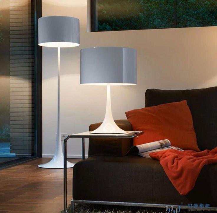 Modern Floor Lamp White /black Floor Lamp For Living Room Study Bedroom  Bedside Light Stand