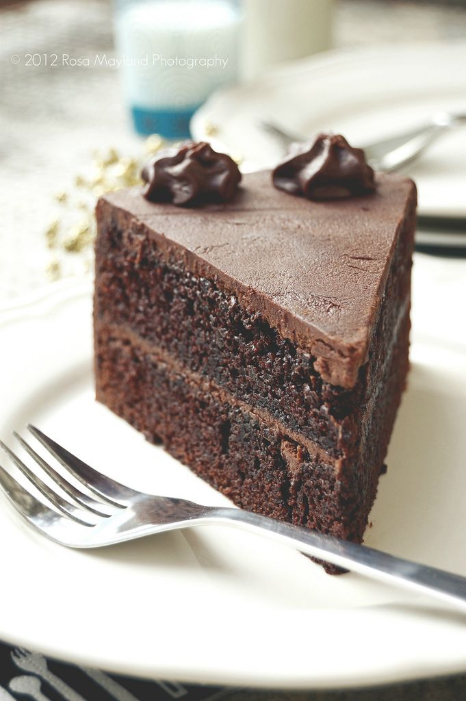 Drop Dead Chocolate Cake.  I made this for moms birthday, one of the best chocolate cakes I have ever put in my mouth!