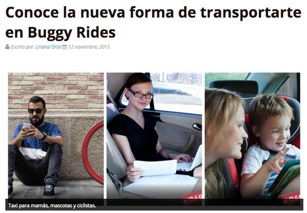 ¡Viaja con todas las comodidades que necesitas! Da clic y conoce la nueva app de transporte urbano en la #CDMX buggyrides.com