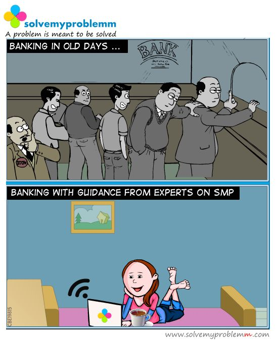 Consult Banking Expert on https://www.solvemyproblemm.com/video ‪#‎bank‬ ‪#‎expert‬ ‪#‎solution‬ ‪#‎comic‬ ‪#‎music‬ ‪#‎internet‬