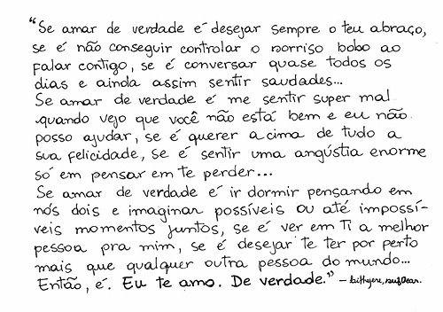 Frases Te Amarei De Janeiro A Janeiro Imagens De Amo 16: Pin De Laryssa Reichert Em Carta