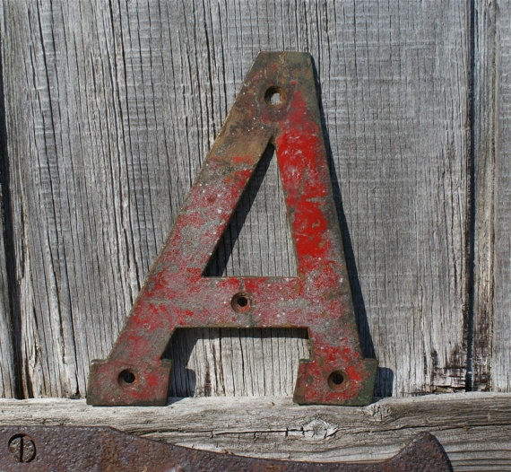 vintage metal letters 96 best images about antique letters on 25425