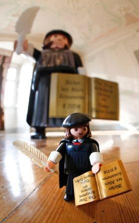 Martin Luther Playmobil.Vorgestellt in Nürnberg. #Reformationsjubiläum #2017