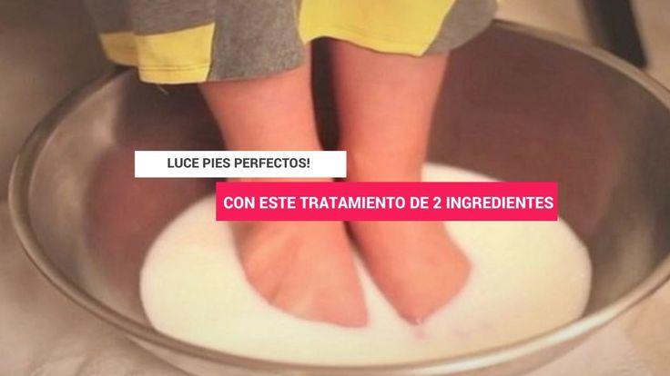 Este tratamiento es 100% natural, ayudara a mejorar la apariencia de tus pies, eliminara la piel muerta e incluso los relajara. Los ingredientes que se utilizan en este tratamiento son súper baratos y fáciles de conseguir.