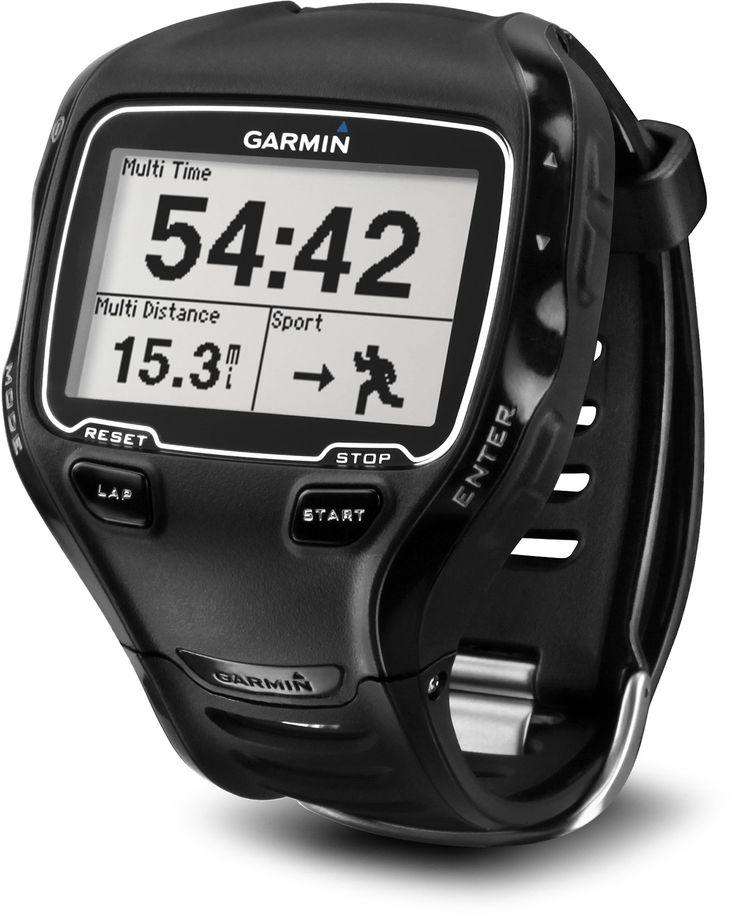For Triathletes Who Crave Data — Garmin Forerunner 910XT GPS Fitness Monitor. #REIswimbikerun