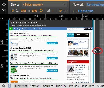 Desain responsif merupakan konsep desain web yang memungkinkan perubahan stylesheet tampilan situs untuk resolusi berbeda. Dengan desain responsif, pengunjung bisa lebih nyaman untuk menelusuri situs sesuai dengan resolusi gadget yang dimilikinya
