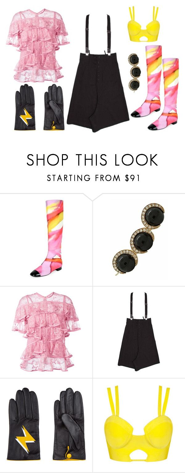 """""""Oblio"""" by thedeannaelizabeth on Polyvore featuring Chanel, Christina Debs, Elie Saab, Yohji Yamamoto and Aristide"""