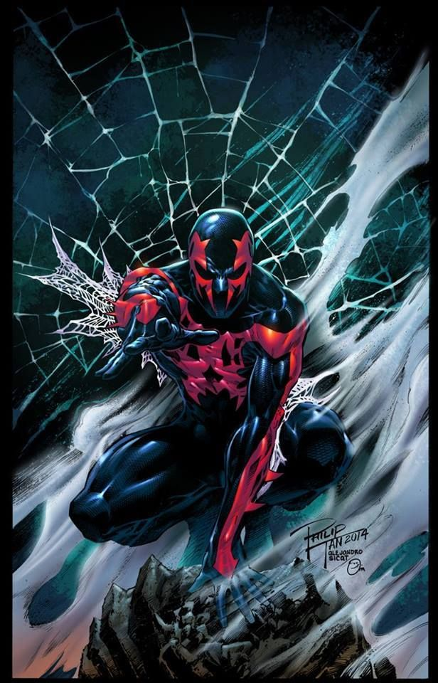 Spider-Man 2099 by Philip Tan