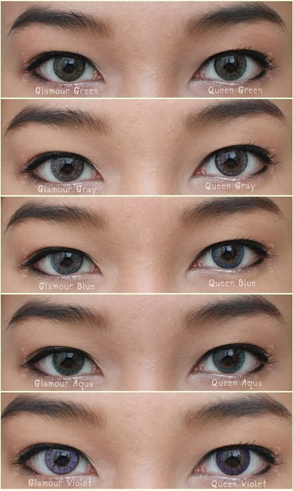 9ef2ab8a335 Neo glamour vs queen. GBT Violet Circle Lenses ...