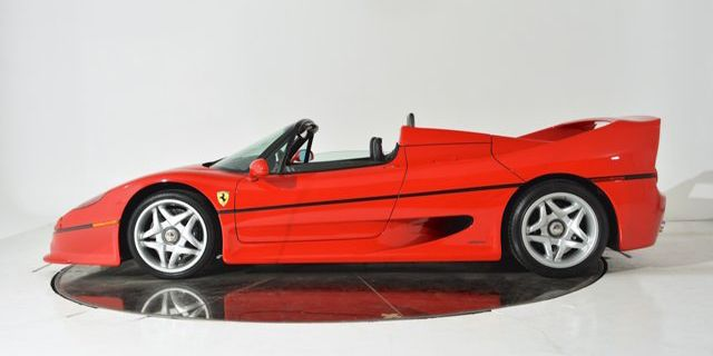 Priced modestly at $2,599,900 from Ferrari-Maserati of Fort Lauderdale, FL, this F50 only has 5,275 miles. This listing was ended by the seller because the car became unavailable.   - RoadandTrack.com