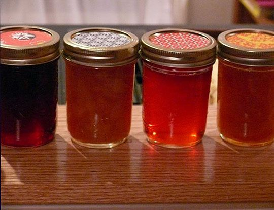 These are not my jams but they look nice. I like simple jam jars, and none of that stupid fabric cover nonsense.