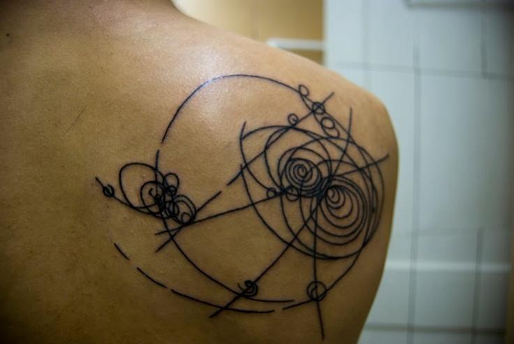 CERN bubble tattoo