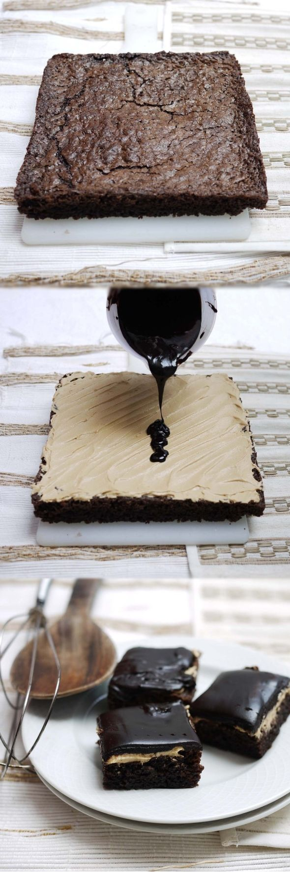 Entertaining Food Deserts Coffee Cream Brownies