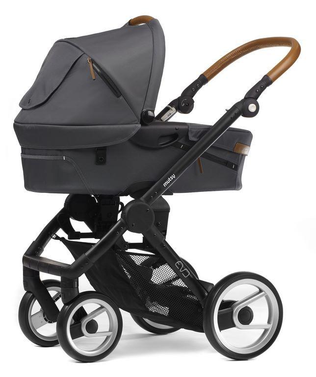 Mutsy Evo mit Babywanne und Sportwagen ♥ Mutsy Evo Kombikinderwagen in den Urban Nomad, Industrial & Farmer Farben ✓ Kauf auf Rechnung ✓ Ratenkauf