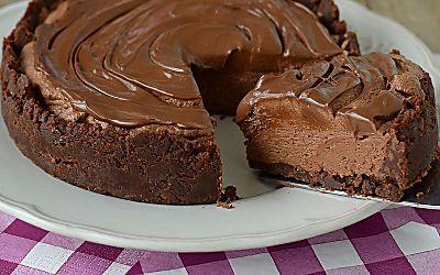CHEESECAKE FREDDA al cioccolato senza colla di pesce