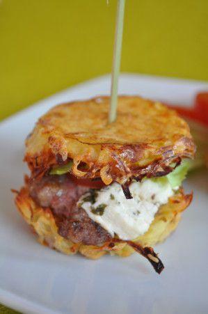 hamburger gros plan