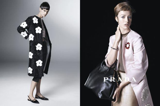 PRADA新ウィメンズ広告に11名のモデル起用 スティーヴン・マイゼルが撮影 | Fashionsnap.com