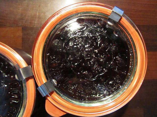 dżem z czarnej porzeczki