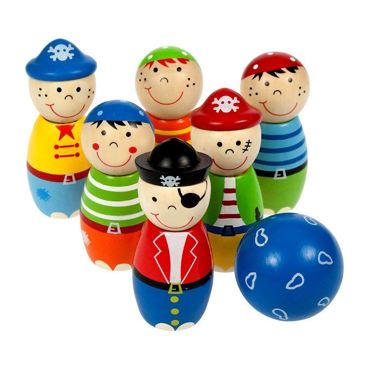 Bigjigs toys, Kręgle Piraci.