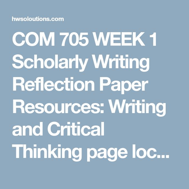 De 25 bedste ider inden for sas programming p pinterest hj com 705 week 1 scholarly writing reflection paper resources writing and critical thinking page located on the sas program website write a 350 word paper fandeluxe Image collections