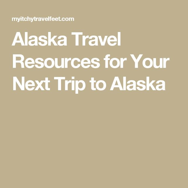 trip planner vacation options alaska resources