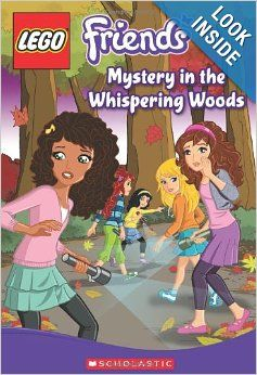 LEGO Friends: Mystery in the Whispering Woods (Chapter Book #3): Cathy Hapka: 9780545566698: Amazon.com: Books