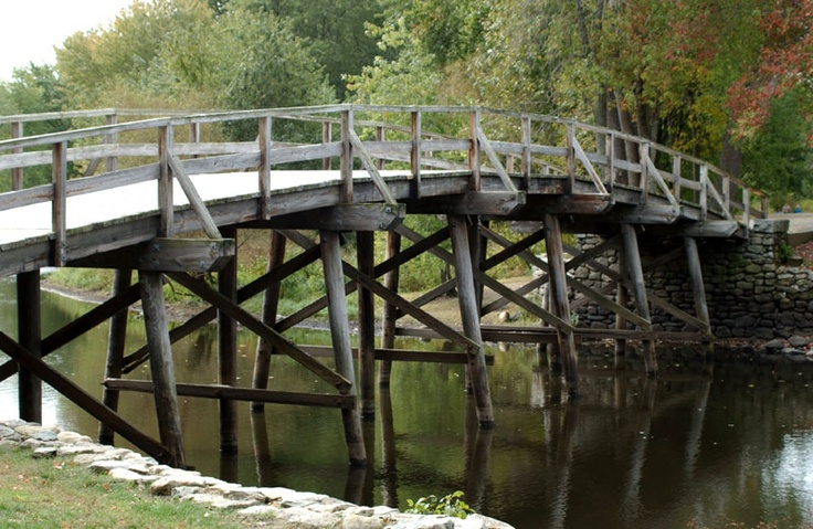 Concord & Lexington {beginnings of the Revolutionary War}...I've walked that very bridge.